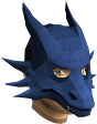 Blue dragon mask chathead
