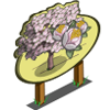 White Plum Tree Mastery Sign-icon
