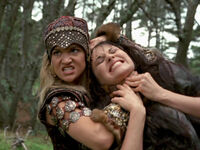 Cyane Xena strangle