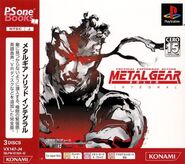 Metal Gear Solid Integral PSoneBooks A
