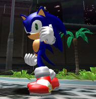 Sonic-pose