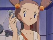 Jasmine with her Pokegear
