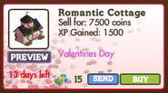 Romantic Cottage III Market Info