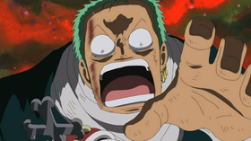 Zoro intranquilo