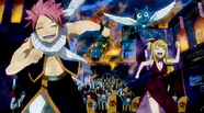 830px-Natsu, Lucy, and Happy running from Rune Knights