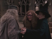 Trelawney Thanking Dumbledore