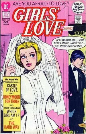 Cover for Girls' Love Stories #162