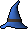 Wizard hat (blue)