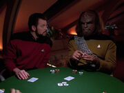 Worf and Riker experience nIb&#39;poH