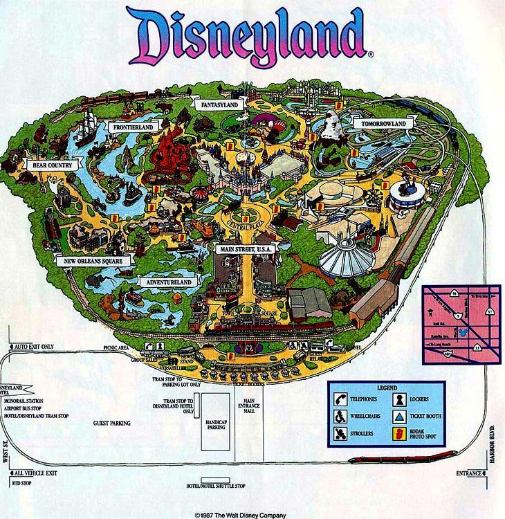 Disneylands evolution through maps disneyed i say more disneylands evolution through maps disneyed i say more pinterest evolution disneyland map and vintage disney gumiabroncs Gallery