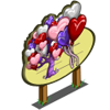 Giant Heart Balloon Tree Mastery Sign-icon