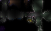 Terraria = Partially Hallowed Chasm