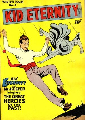 Cover for Kid Eternity #4