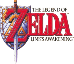 The Legend of Zelda - Link&#39;s Awakening (logo)