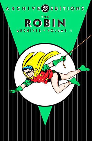 Cover for Robin Archives #1