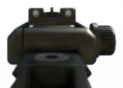 MP7 Iron Sights MW3