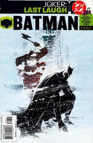 Cover for Batman #596