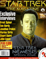 Star Trek The Magazine volume 3 issue 10 cover 2