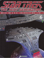 The Official Star Trek The Next Generation Build the Enterprise-D issue 6 magazine