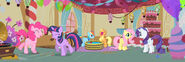 Pinkie Pie Gummy party panorama for background S1E25