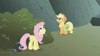 Fluttershy looks scared S1E07