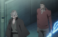 Isshin carries the Reiatsu sword