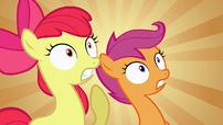 Scootaloo &amp; Apple Bloom WHAT! S2E17