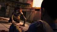 Walking dead video game feb 15 2012 screenshot one of 3 zombie on floor