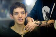 Colin Morgan Behind The Scenes Series 3-7