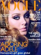 Adele on Vouge Magazine