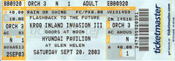 KROQ Inland Invasion wikipedia duran duran ticket