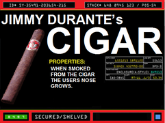 Jimmy Durante's Cigar