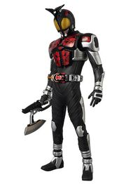 Kamen Rider Dark Kabuto with Axe