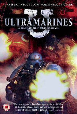 Ultramarines - A Warhammer 40,000 Movie DVD cover
