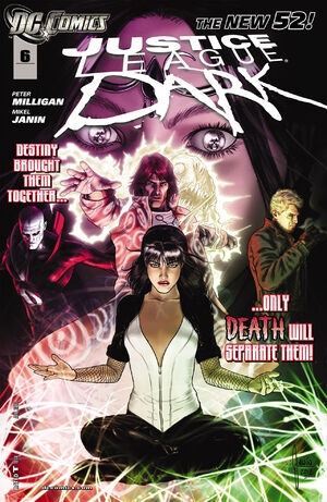 Cover for Justice League Dark #6