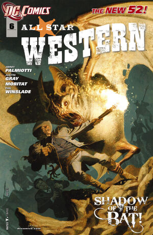 Cover for All-Star Western #6