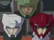 Dearka, Yzak and Athrun