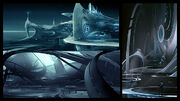 Tron-Evolution Concept Art by Daryl Mandryk 06a