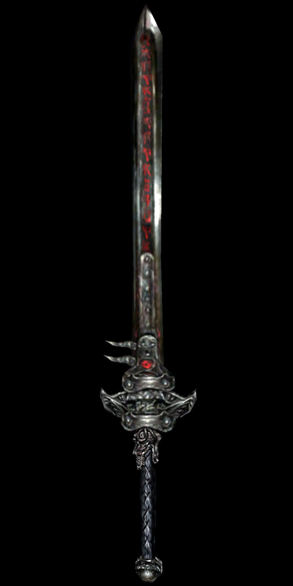 daedric longsword morrowind the elder scrolls wiki