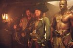 Captain Barbossa and his crew