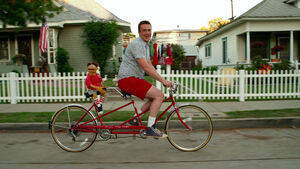 TheMuppets-(2011)-Walter&amp;GaryOnTandemBike