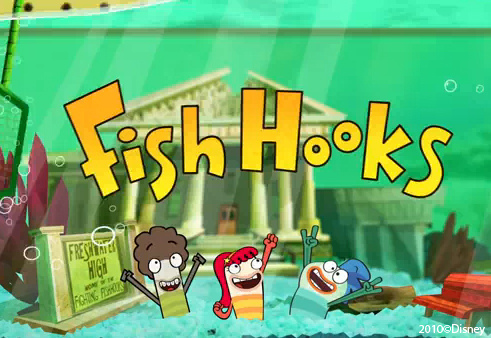 Disney Fish Hooks on 600full Fish Hooks Poster Jpg