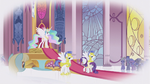 Rarity at Celestia&#39;s throne room S1E3