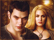 Couple emmett rosalie