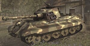 Tiger II CoD WaW