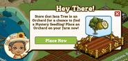 Hawaiian Paradise Orchard Pop Up Message