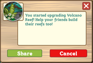 Hawaiian Paradise Volcano Reef Initial Message