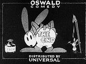 Oswald the Lucky Rabbit The End