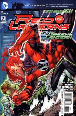 Cover for Red Lanterns #7