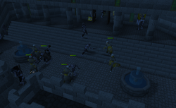 Dov zombies killing varrock guards